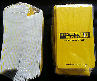 """Lot of 24 Tablets Western Union lined mini writing 5"""" x 2 3/4"""", New Free US ship"""