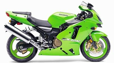 Kawasaki ZX12R 2002 - 2006 Workshop Manual