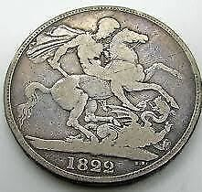 1822 Gothic William Iiii George & Dragon Souvenir Retro Crown Coin