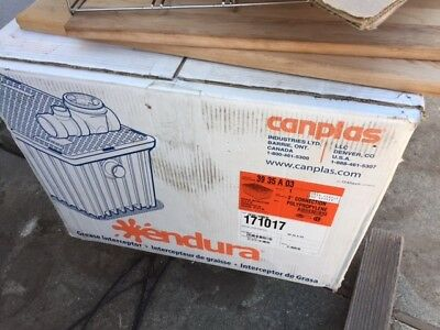Canplas® Endura® 35GPM Grease Trap
