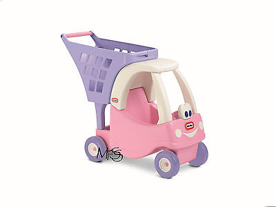 Little Tikes Princess Cozy Coupe Shopping Cart Shopping Trolley * Brand New