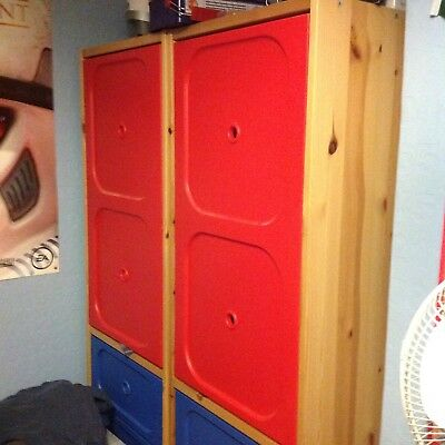 Ikea trofast childrens wardrobe