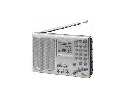 Sony Icf Sw7600 World Airband Radio Lw/mw/sw/fm