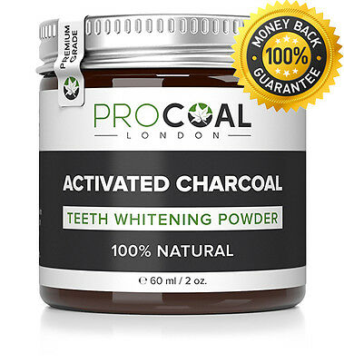 PROCOAL Activated Charcoal Teeth Whitening Powder ⭐ ⭐ ⭐ ⭐ ⭐