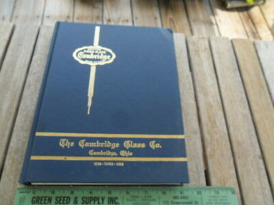 Vintage 1978 Cambridge Glass Co. Book 1949 thru 1953 with Value Guide