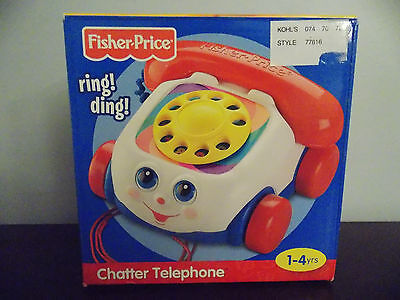 Fisher Price Toddler Preschool Chatter Telephone NIB