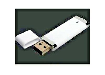 For 1 - USB White stick style 1 GB Flash Drives -  USB 2.0 - You will receive 1