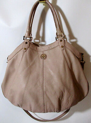 Tory Burch Dakota Hobo Crossbody Satchel Hand Bag w/ Dust Bag Pink Cloud
