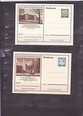 1211 Germany Post Card Deutsche Bundes Republik Post Postkarte New Unused X4