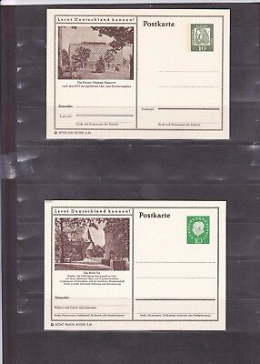 1206 Germany Post Card Deutsche Bundes Republik Post Postkarte New Unused X4