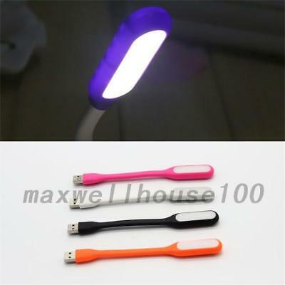 Mini Flexible USB Keyboard LED Light Computer Lamp for Notebook PC Laptop New