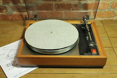 Ariston RD11S Turntable w/ Grace G-707 Tonearm Record Player for Parts or Repair