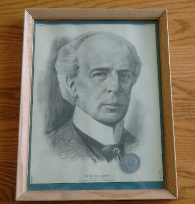 Quaker Oats Canadian Prime Ministers Centennial Series Sir Wilfred Laurier