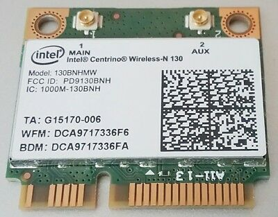 Chip Wi-Fi Intel 130BNHMW