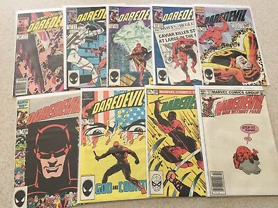 Daredevil  9 Issue Lot 187-263  NM-  9.2  High Grade  Defenders  Netflix Series