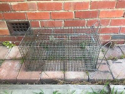 Animal Trap Large Cage 60 x 30 x 30cm Catch And Release Possum Feral pests