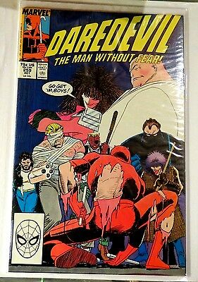 Daredevil #259 Marvel Copper Age Comic CB1033