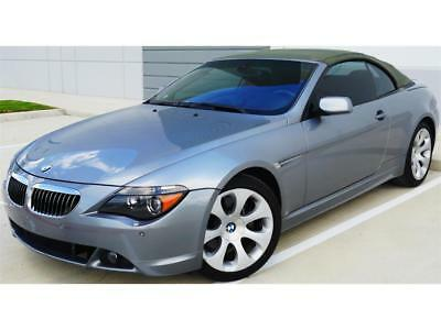 2006 BMW 6-Series 650i 2006 BMW 650i Automatic 2-Door Convertible