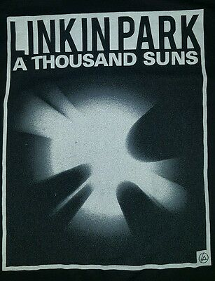 Linkin park,T-shirt, A Thousand Suns,For Men,Large,Rock and Roll
