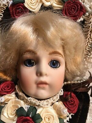 FRENCH Bru JUMEAU Antique DOLL Reproduction Head - Large Hanging ORNAMENT