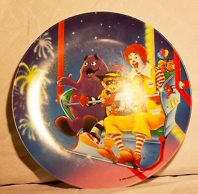 Lot of 4 McDonald's Collectible Plates Brand New Free Shipping Gift Collector
