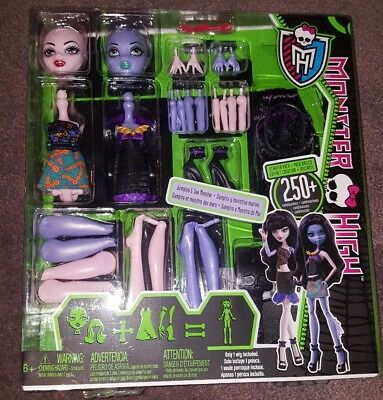 Sea Monster And Vampire Girls Create A Monster High Doll 2 Pack - New