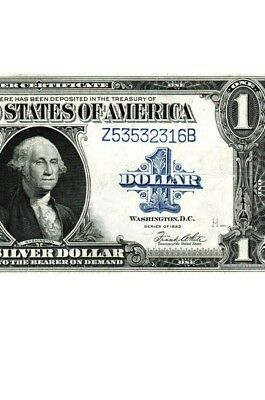 1923 $1  Silver Certificate in good condition
