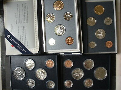Canada Specimen Sets Lot of 14