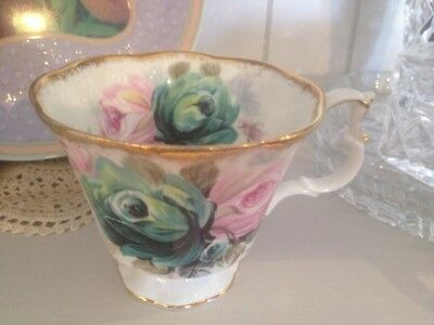 "Royal Albert - Tea Cup - Summer Bounty Series "" Jade """