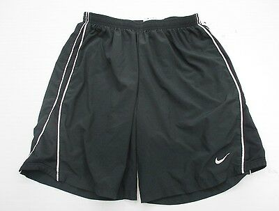 NIKE #SH7969 Men's Size S Athletic DRI-FIT RUNNING LINED Black Shorts