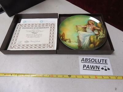 ONE OF Georgia Lambert The Four Ancient Elements Collectible Plate WATER PLATE
