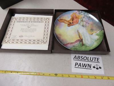 ONE OF Georgia Lambert The Four Ancient Elements Collectible Plate AIR PLATE