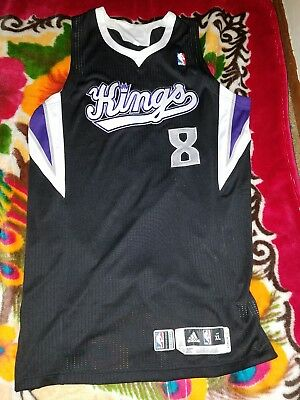 Game Worn Rudy Gay Jersey (Sacramento Kings,San Antonio Spurs) Rare,All Star,VTG