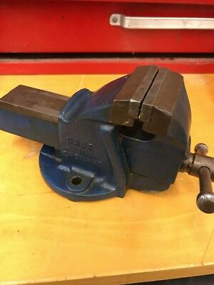 Rare Machinist Woden Vice & vise Made In England 2 1/4 Inch Jaws