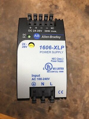 Allen-Bradley 1606-XLP30E DC Compact Power Supply 100/240VAC/24-28VDC
