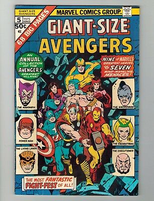 Lot of Marvel Giant Sized Werewolf Avengers Man Thing and more