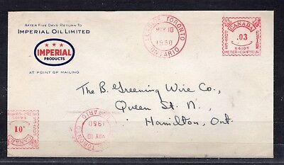 Canada Adv.slo. Double Cancel  Imperial Oil Limited ' 'leaside May 10 1950'