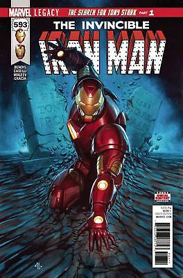 INVINCIBLE IRON MAN #593 LEGACY | LOWEST PRICE ONLINE!!!! | $1.99 Shipping!!!