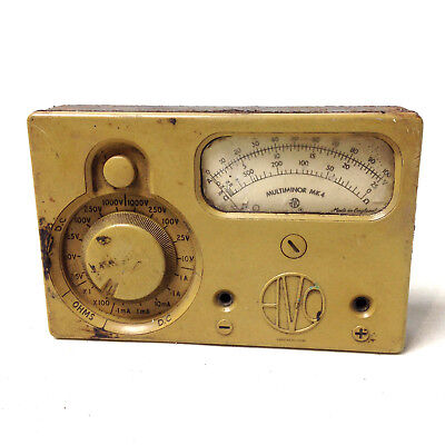 Vintage AVO MULTIMINOR MK4 METER Avometer