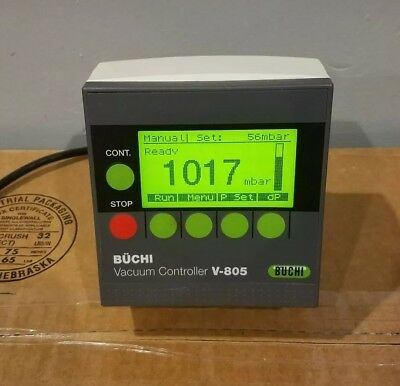 Buchi V-805 Vacuum Controller - Tested Working