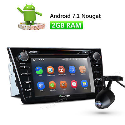 "8"" Android 7.1 Car DVD GPS Tracker for Mazda 6 Nougat Touch Screen + Dashcam W"