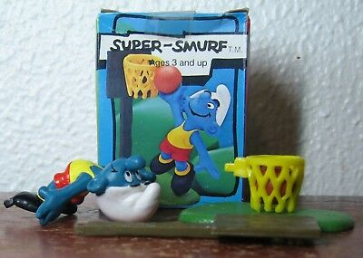 Smurfs -  Basketball Smurf With Box!
