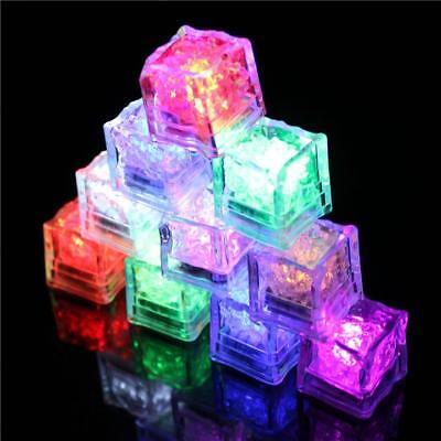 Luminous Color Night Light Waterproof Ice Cube Flash Party Home--Colorful Light