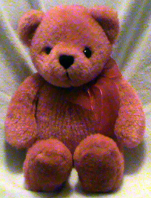 "12"" Plush Teddy Bear Collectible 2002 Avon 100th Anniversary Musical Talking"