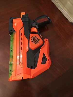 Hasbro Nerf Gun Zombie Strike Fusefire Disc Shooting Light-up Blaster