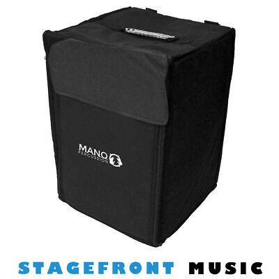 CAJON BAG CSB47L MANO PERCUSSION 5mm PADDED HEAVY DUTY CARRY BAG WITH STRAPS