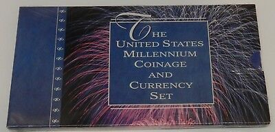 2000 United States Millennium Coinage & Currency Set ~SEALED / UNOPENED US MINT
