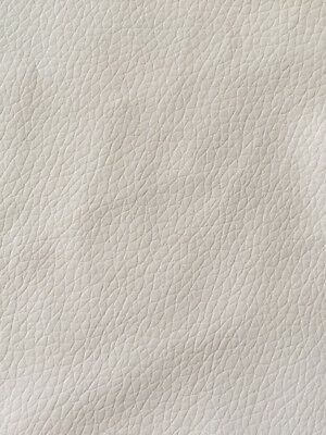 Off White Colour Faux Leather Vinyl Upholstery Fabrics Material PU Leatherette