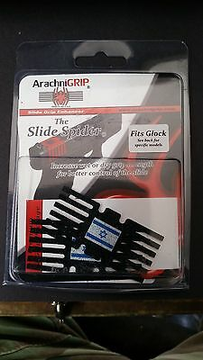 glockslide grip israeli flag on black background 2 pcs pack last one