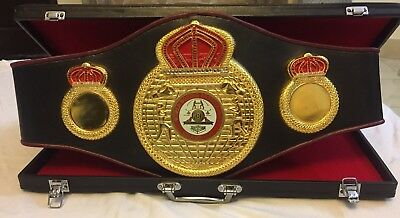 Wba Boxing Championship Belt Adult Size With Box